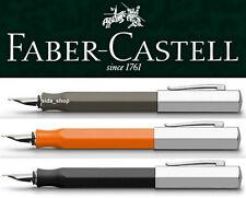 Faber Castell ONDORO Füllfederhalter Füller graubraun orange schwarz !bestprice!