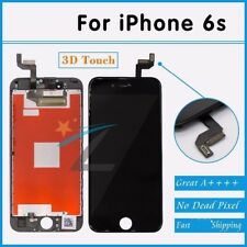 """For iPhone 6S 4.7"""" Black Display Touch Screen Digitizer LCD Replacement Assembly"""