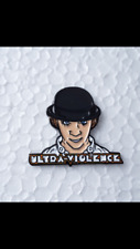 Clockwork Orange Ultra Violence Badge Droogs Kubrick Oi Punk Skins Casual Ultras