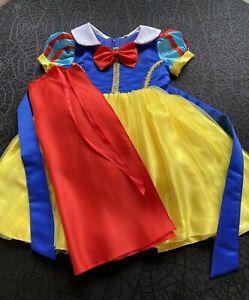 Disney SNOW WHITE PRINCESS Costume Girls Infant Toddler SZ 18-24 MTH ~ ADORABLE!