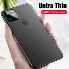 Case For iPhone 11 Pro Max Xs Ultra Thin Slim 0.3mm Matte Hard Back Cover Skin
