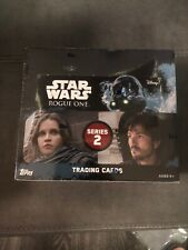 STAR WARS: Rogue One Series 2 Sealed Retail Box of Trading Cards! 24 Packs!