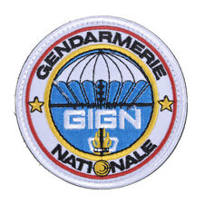 GIGN Gendarmerie Embroidered Patch Armband Applique Shoulder Badge + Hook & Loop