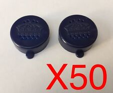 50 Salt And Pepper Shaker Plastic Caps Lids Beer Bottles - Suit BINTANG / CORONA