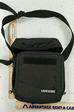 Case Logic CD Player Carrying Case with Shoulder Strap and Extra CD's Pouch