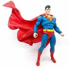 SU-C-MF-SUP: Long Wired Red cape for McFarlane DC Superman (No Figure)