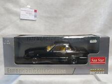 Mercedes-Benz 350SL 1977 Schwarz black 1:18 Sun Star  R107 W107