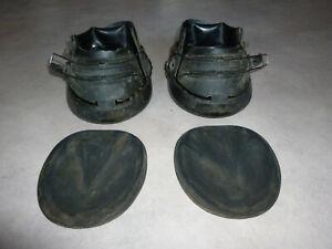 Hufschuhe, 1 Paar Marquis Größe 3 schwarz, gebraucht
