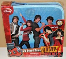 Disney Camp Rock CD Board Game - New Boxed Australian Seller