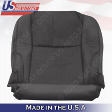Fits 2007 Lexus IS250 Driver Side Bottom Seat Cover- Perforated Leather- Black