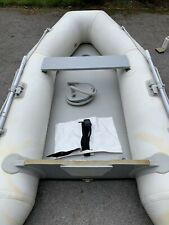 VM 2.7m Inflatable Dinghy/Sib/Tender/Boat Grey, Airdeck, keel