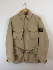Belstaff Trialmaster Unlined Canvas Motorcycle Jacket Coat 42/Small Tour Trophy