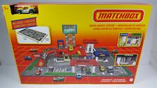 2020 Matchbox Target Exclusive RETRO Super Service Center Play Set Rare NEW