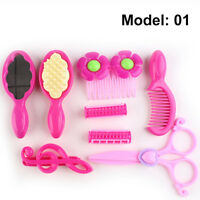 Pretend Play Beauty & Fashion Toys Gril Dressing Up Toy Comb Hair Dryer Scissors
