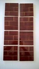 8 fireplace Tiles.   .stock item tiles X505