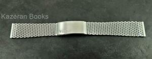 Vintage Timex Stainless Steel Wristwatch Band Strap 19mm
