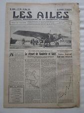 AILES 1931 509 PANDER EH-120 MADAGSACAR MAZADE AFRIQUE ORAN WHITLET HOVERPLANE