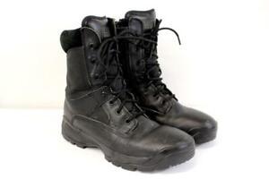 "5.11 TACTICAL Black ATAC 8"" SIDE ZIP Boots POLICE LAW ENFORCEMENT Womens 9.5 M"