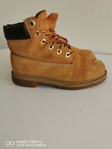 Timberland 6 Inch Premium Boys Waterproof Boots Size UK 3
