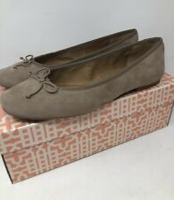 NEW Gianni Bini Star-Gaze Ballet Flats Shoes Women Size 8 Sahara Sand Tan NIB