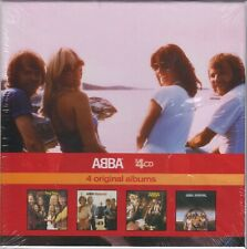 Abba 4 CD Set 4 original albums incl: bonus tracks 2010