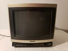 "Vintage SONY KV-1370R 13"" Color TV Gaming Television."