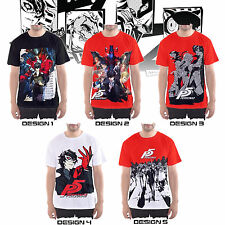 Persona 5 Take Your Heart Custom T-SHIRT / JERSEY - PlayStation 4 game theme