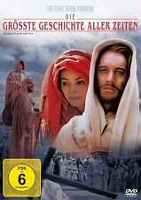 La Plus Grand Geschichte Aller Temps Max de Sydow Charlton Heston Bible DVD Neuf