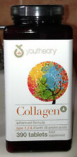 Youtheory 100% naturale di collagene 390 Compresse Per Bottiglia
