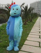 Iggle Piggle Mascot Costume Halloween Suit Adults Anime Cosplay Party Game Dress