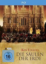 3 Blu-rays  *  DIE SÄULEN DER ERDE  -  STEELBOOK  !!!  # NEU OVP