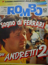 ROMBO 32 1989 Nigel Mansell alla Ferrari - Larini alla Ligier