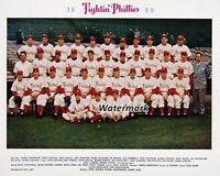 1950 Fighting Phillies Philadelphia Phillies Team Picture Color 8 X 10 Photo