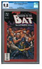 Batman: Shadow of the Bat #1 (1992) Key 1st Victor Zsasz CGC 9.8 JZ238