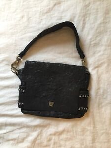Givenchy Wrinkled Leather Extra Large Clutch Bag