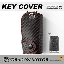 Leather Key fob Holder Case Chain Cover FIT For SAAB 93 Sport Convertible X 303B