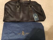 Links & Kings Nice Leather Travel Golf Clothes Tote Bag + Case Lanier Islands