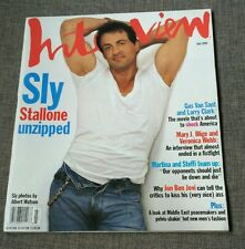 ANDY WARHOL'S INTERVIEW - SYLVESTER STALLONE BON JOVI MARY J. BLIGE - JULY 1995