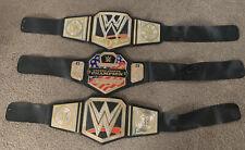 WWE Bundle 3 Wrestling Belts