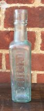 Vintage Daddies Sauce Clear Glass Bottle Early 1900s