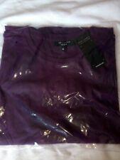 Men's BNWT Plain Purple Tshirt, Size M, From New Look