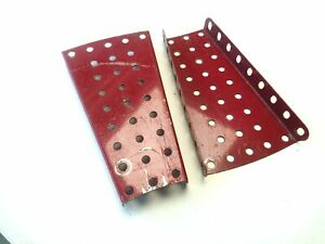 Vintage Meccano One pair of flanged Sector Plate; 4 1/2 in. (54) PRICED TO CLEAR