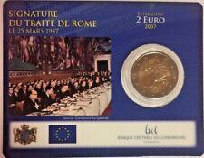 2007 Luxembourg 2 Euro Special Edition 50th Anniversary Treaty of Rome