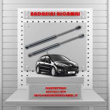 2 PISTONCINI BAGAGLIAIO PEUGEOT 207 1.4 HDi 50KW 68CV 2010 ->   MG24071