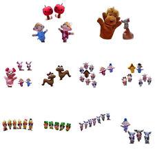 Set of Soft Plush Finger Puppets Baby Children Kids Gift Family Educational Toys