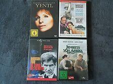 4 x Klassiker DVD Sammlung Yentl / Bounty / Jenseits von Afrika / Die Stunde der