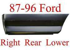 87 96 Ford RIGHT REAR Lower Bed Patch Panel, F150, Truck, 1.2MM Thick, 577-60R