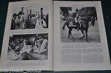 1935 magazine article, GREAT BRITAIN, Silver Jubilee of 1935 plus color Scotland