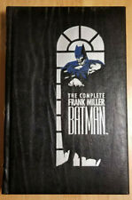 THE COMPLETE FRANK MILLER BATMAN YEAR ONE ~ DC LEATHER BOUND HARDCOVER