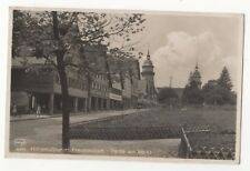 Freudenstadt Partie Am Market Germany Vintage RP Postcard 841b